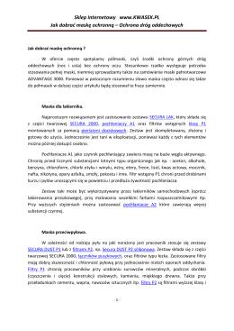 MINISTER ROLNICTWA I ROZWOJU WSI Warszawa, 2014 - 10