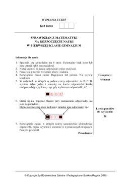 Oświadczenie rodziców o zatrudnieniu lub prowadzeniu