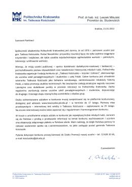 """Projekt: """"Krabat"""" (Comenius) - I Liceum Ogólnokształcące im. S"""