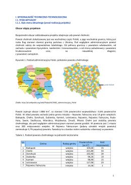 Badanie lokalnego rynku pracy Powiat radomszczański