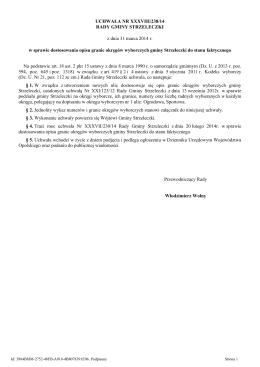 UCHWAŁA NR 558/XXXIII/2013