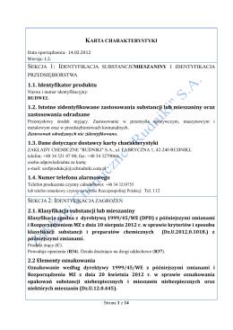 """Rumil - Zakłady Chemiczne """"Rudniki"""" SA"""