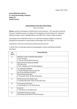 program szkolenia - Szczeciński Inkubator Kultury