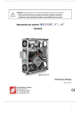 EUROSTER E11Z Instrukcja obsługi i montażu - E-heat