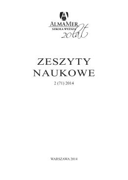 Spis treści - Polskie Towarzystwo Dysleksji