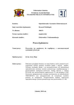 Wszystkie informacje dotyczące fizyki (wymagania, PSO, informacje
