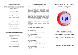 karta zgłoszenia na vii konferencję zamówień