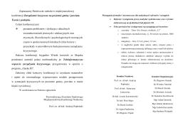 "komunikat nr 1 ""remediacja rekultywacja i - Odpady"