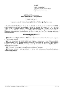 Treść uchwały *.pdf - BIP Urząd Gminy Chełm Śląski