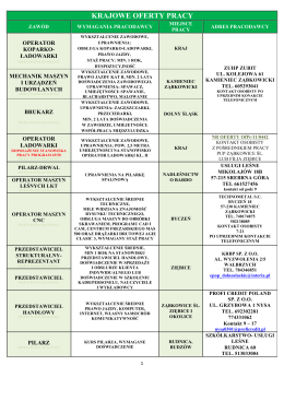 Instrukcje do ćwiczeń laboratoryjnych