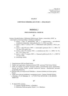 Uchwała NR XXVI/275/10 Rady Miejskiej w Kowalewie Pomorskim z