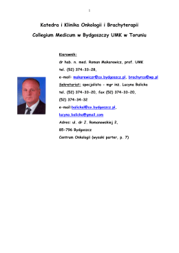 TRENINGI BADAWCZE - 1. rok socjologia licencjacka