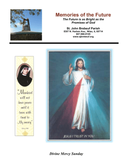 Weekly Bulletin - St. John Brebeuf Catholic Parish, Niles IL