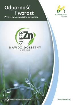 Odporność i wzrost Płynny nawóz dolistny z cynkiem