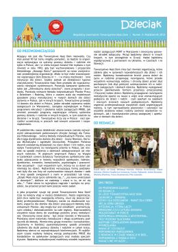 Nr 3/2012 - Ośrodek Wsparcia Rodzinnej Opieki Zastępczej PORT