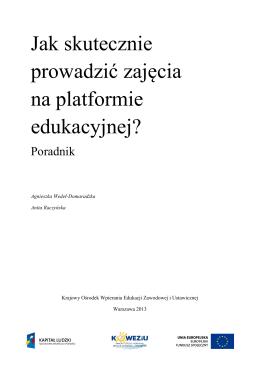Publikacja do pobrania (pdf) - Krajowy Ośrodek Wspierania