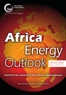 Africa Energy Outlook - Executive Summary