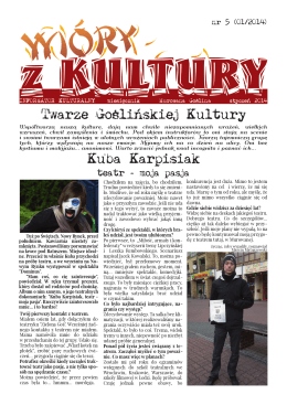 WIÓRY Z KULTURY – nr 5 – 2014/01