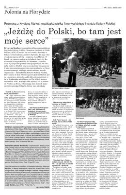 publikację, Wyprawa na Kresy oraz wywiad z panią Krystyną Markut