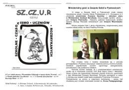 gazetka 2010-2011 nr 2 - Zespół Szkół w Pyskowicach