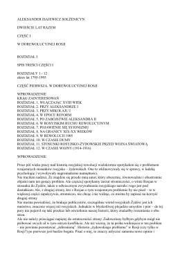 aleksander isajewicz sołżenicyn dwieście lat razem część iw