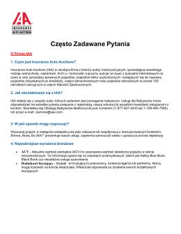 Pobierz Często zadawane pytania w formacie PDF