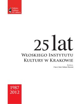 Kliknij tutaj, aby pobrać katalog. - Włoski Instytut Kultury w Krakowie