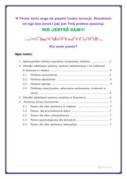 Nie jesteś sam! plik pdf.