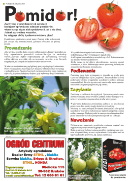 10-11 Pomidor i masz skrzyp masz problem