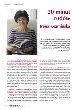 20 minut cudów Irena Koźmińska