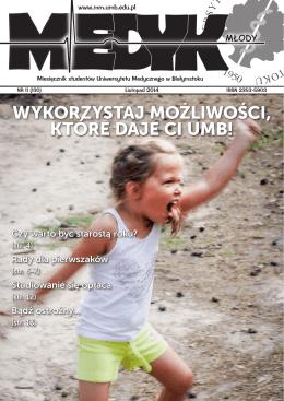 KTÓRE DAJE CI UMB! - Uniwersytet Medyczny w Białymstoku