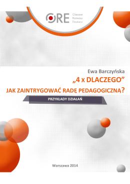 """""""4X DLACZEGO"""" - Doskonaleniewsieci.pl"""
