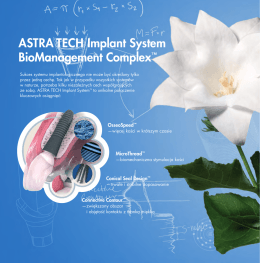 ASTRA TECH Implant System BioManagement Complex™