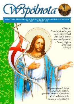 Chrystus Zmartwychwstan jest Nam za przykład dan jest Iż mamy