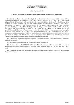 Uchwala Nr XXIII/247/2012 z dnia 19 grudnia 2012 r.