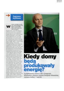Murator, 1 marca 2013Hit! - Instytut Energetyki Odnawialnej