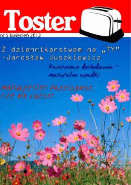 Wydanie kwietniowe - VI Liceum Ogólnokształcące im. Janusza