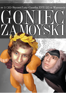 Goniec - XVIII LO im. Jana Zamoyskiego w Warszawie