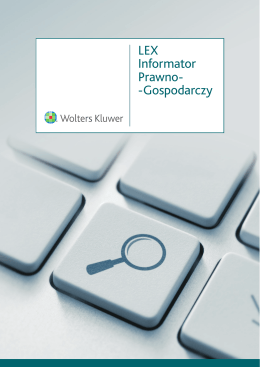 LEX Informator Prawno-
