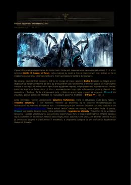 Blizzard zapowiada aktualizację 2.1.0! Data