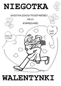 Niegotka - luty 2013 r. - Szkoła Podstawowa nr 271