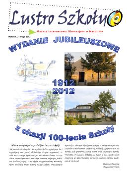 Gazeta Internetowa Gimnazjum w Natolinie