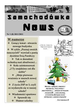 Numer 8 - listopad 2011 - Zespół Szkół Ponadgimnazjalnych nr 3 w