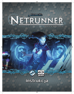 Android: Netrunner LCG – Instrukcja