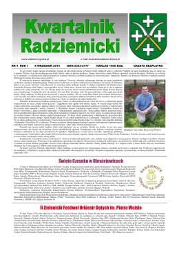 tutaj - Gmina Radziemice