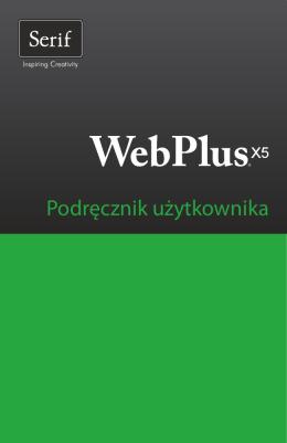 WebPlus X5 — podręcznik użytkownika