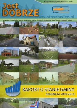 RapoRt o stanie gminy - Stoszowice, Urząd Gminy