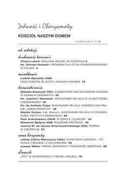 Kościół naszym domem - Ruch Focolari w Polsce