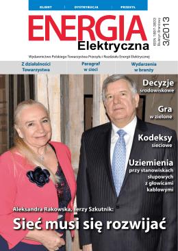 numer 3/2013 - Polskie Towarzystwo Przesyłu i Rozdziału Energii