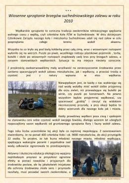 Część XVI - Koło PZW w Suchedniowie